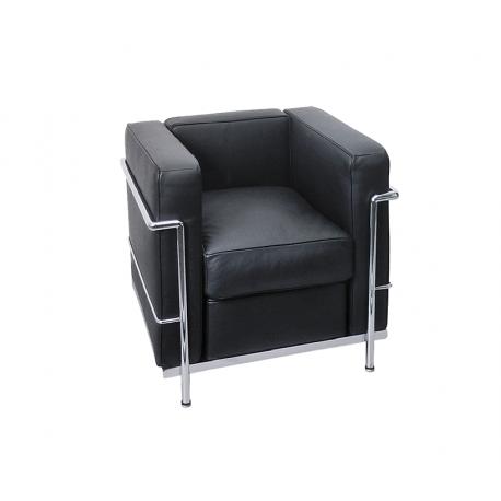 le corbusier 1er sessel lc2. Black Bedroom Furniture Sets. Home Design Ideas