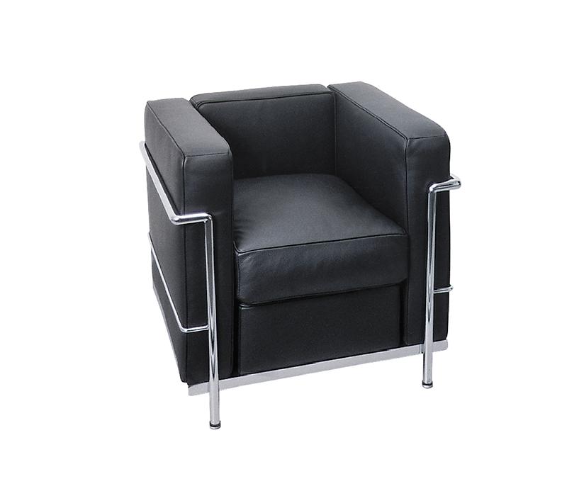 Blasto.ch   Ambiance zu vermietenLe Corbusier 1er-Sessel LC2