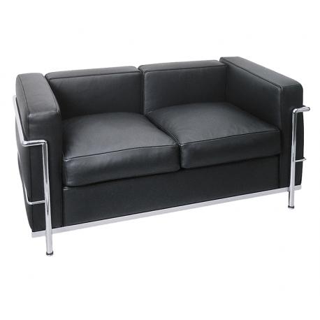 Blasto.ch | Ambiance zu vermietenLe Corbusier 2er-Sofa LC2