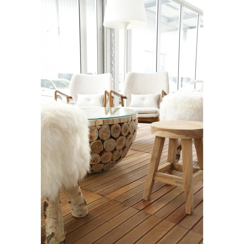 ambiance zu vermietenalpina holz loungetisch. Black Bedroom Furniture Sets. Home Design Ideas